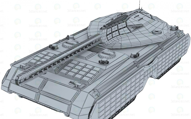 """3d модель Футуристический танк """"Mark"""" – превью"""