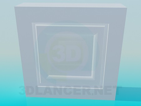 3d model Framing the windows - preview