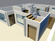 HOUSING GROUND FLOOR 3DS MAX 2010