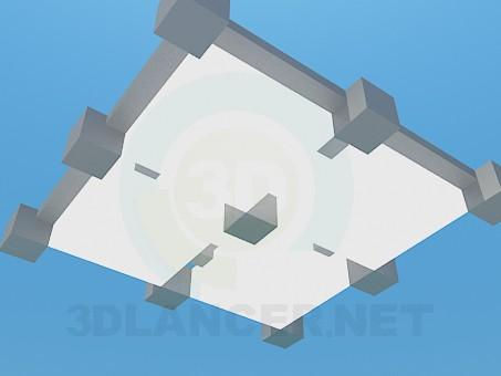 3d модель Светильник в офис – превью