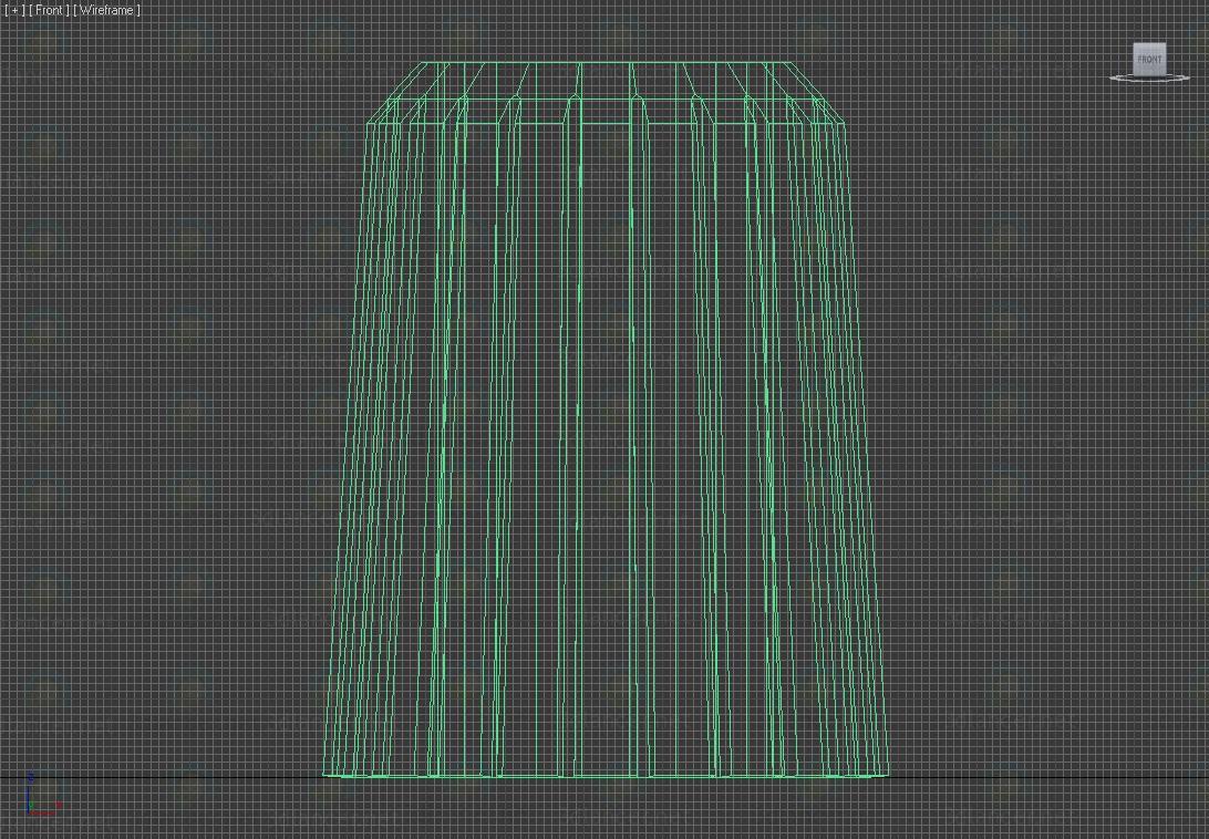 3d Urn street model buy - render