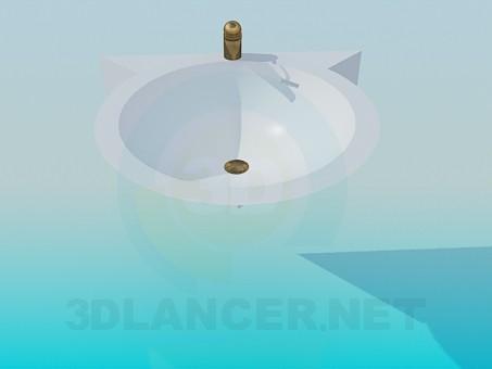 modelo 3D Dispensador de agua - escuchar