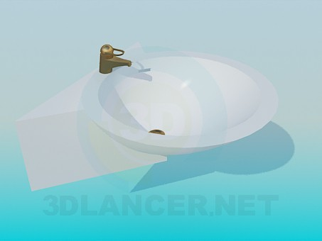 3d model Water dispenser - preview
