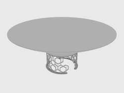 Dining table CLAIRMONT TABLE (d180xH74)