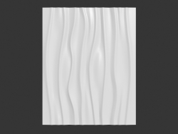 Decorative panel Wave