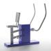 """3d Outdoor bench press """"chest press"""" model buy - render"""