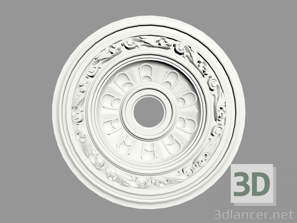 3d model Ceiling outlet (P118) - preview