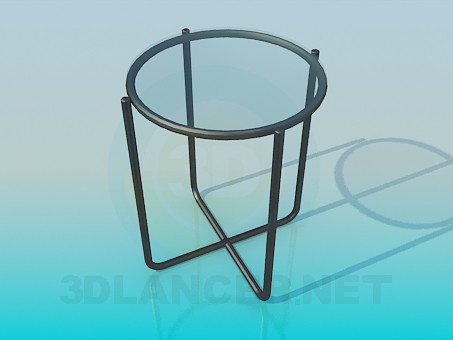 3d modeling Chair seat with a glass model free download