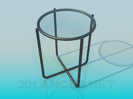 3d model Asiento de la silla con un vaso - vista previa