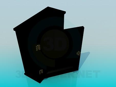 modelo 3D Caja de seguridad - escuchar