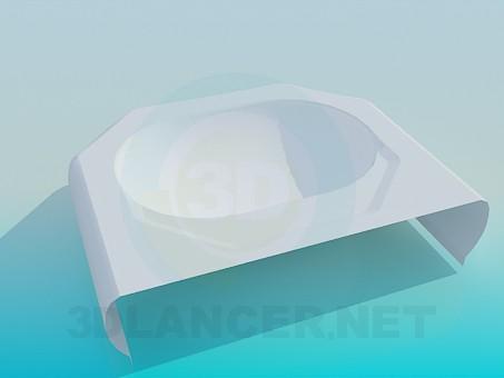 modelo 3D Varec de hexágono - escuchar
