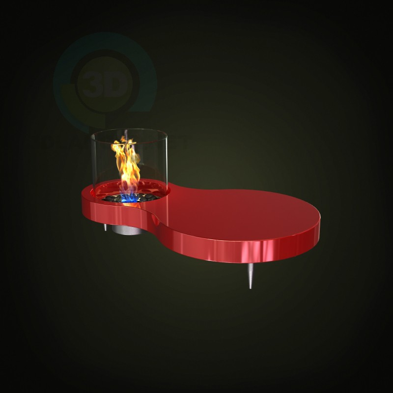 3d model Fireplace 2 - preview