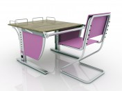 "LIBAO LB-D05 ""Growing"" desk and ""growing"" Chair"