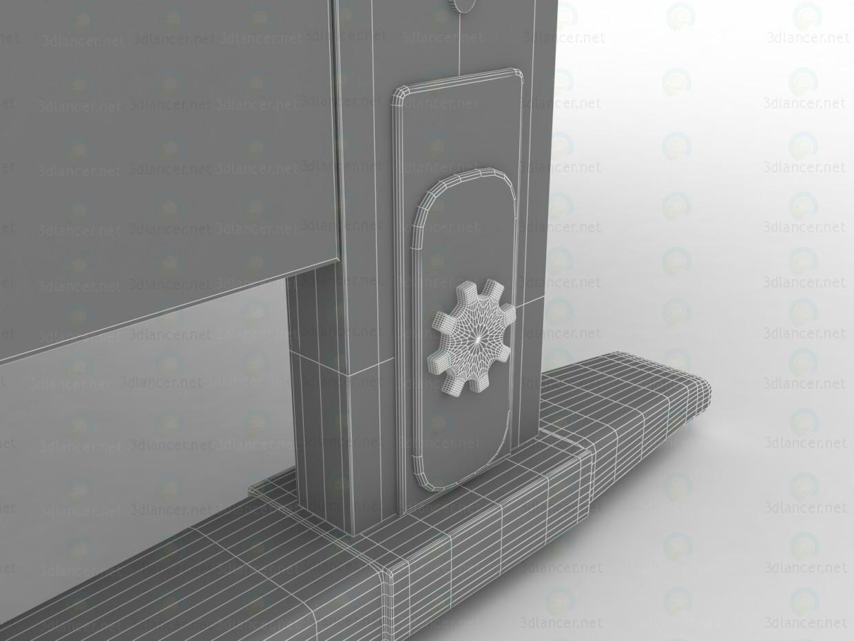 """3d LIBAO LB-D05 """"Растущая"""" парта и """"растущий"""" стул модель купить - ракурс"""