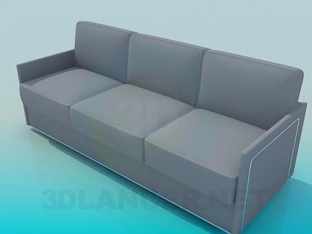 3d model Sofa minimalism - preview