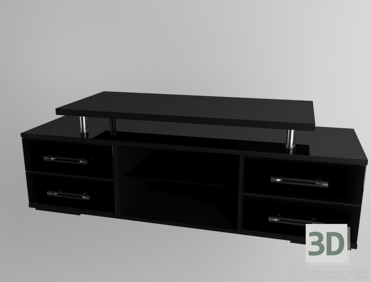 3 डी टीवी के लिए अलमारी मॉडल खरीद - रेंडर