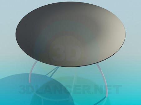 3d модель Барный стол – превью