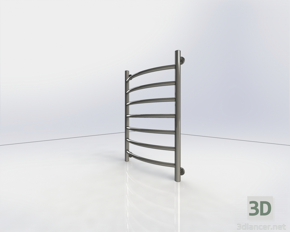 3d model Heated towel rail - preview