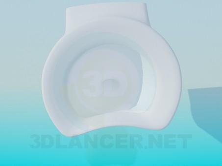 3d modeling Urinal model free download