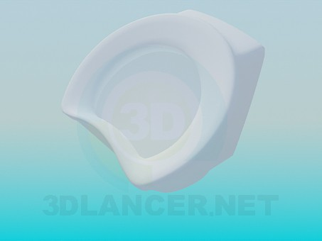 modelo 3D Orinal - escuchar