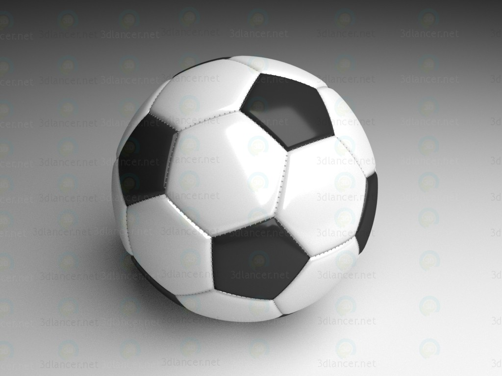 3d model Soccer ball - preview