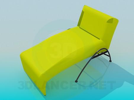 modelo 3D Caballete-cama - escuchar
