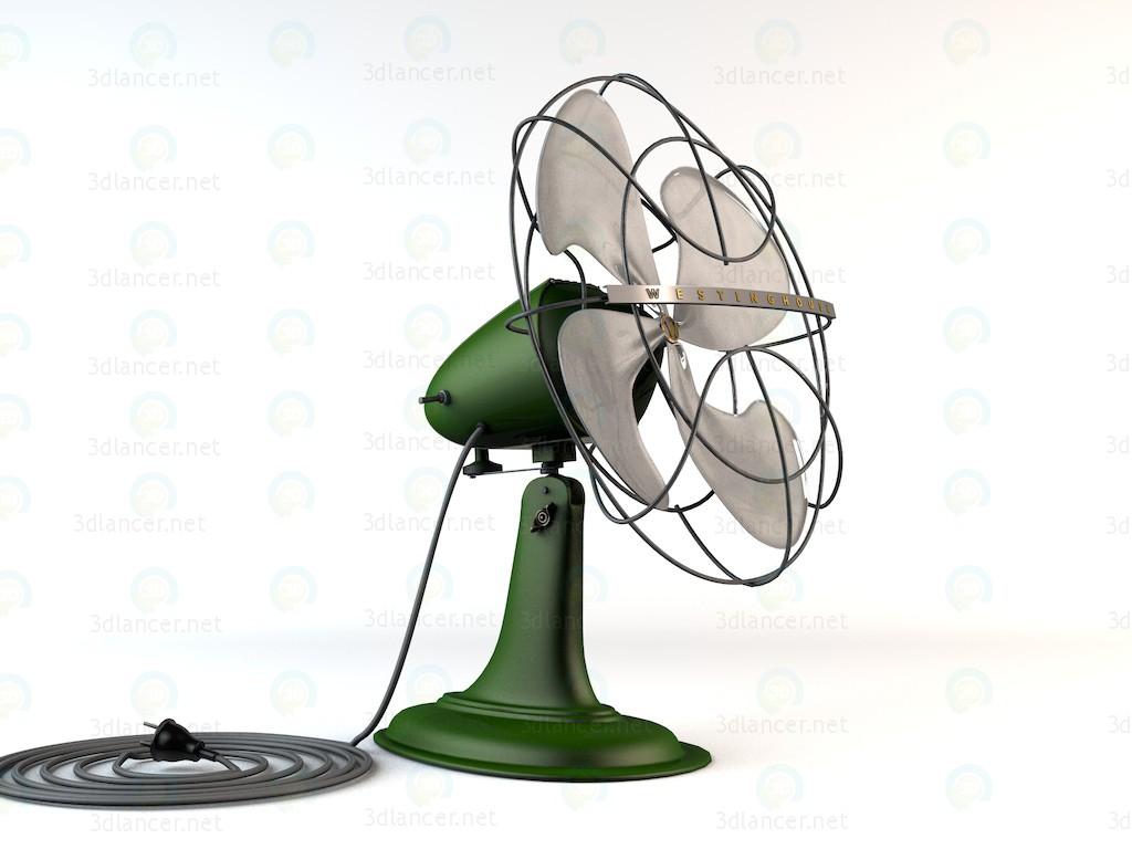 3d модель Вентилятор WESTINGHOUSE – превью