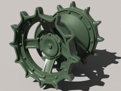 Menant la roue t-72-80-90