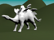 Modelado de Estegosaurio