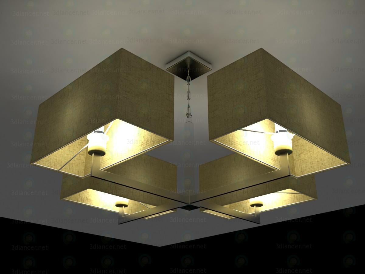 3d моделирование Люстра Odeon Light Norte 24214 модель скачать бесплатно