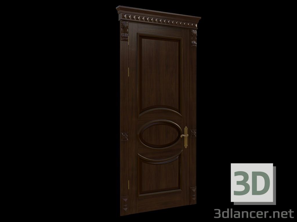 3d model Classic door 1 - preview