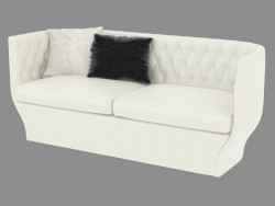 Double leather sofa Giselle (200)