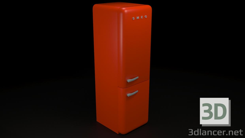 Smeg Kühlschrank Xxl : D modell kühlschrank smeg ds max id