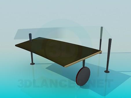 descarga gratuita de 3D modelado modelo Mesa de centro con el desplazamiento de la mesa