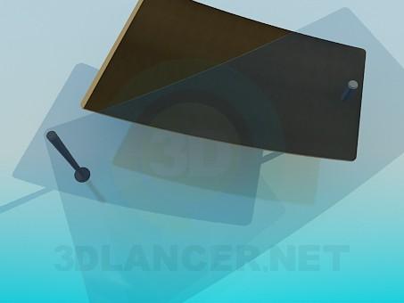 modelo 3D Mesa de centro con el desplazamiento de la mesa - escuchar