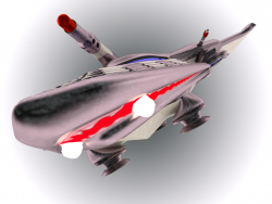 "Space fighter ""Akulka"""