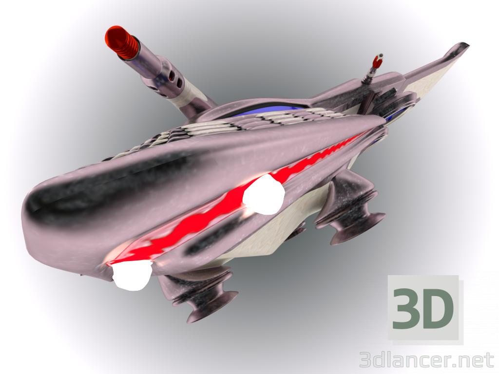 """3 डी मॉडल अंतरिक्ष सेनानी """"अकुला"""" - पूर्वावलोकन"""