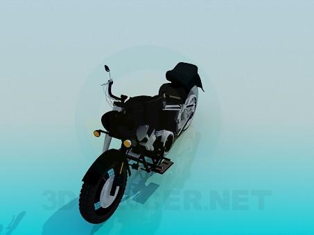 3d модель Мотоцикл – превью