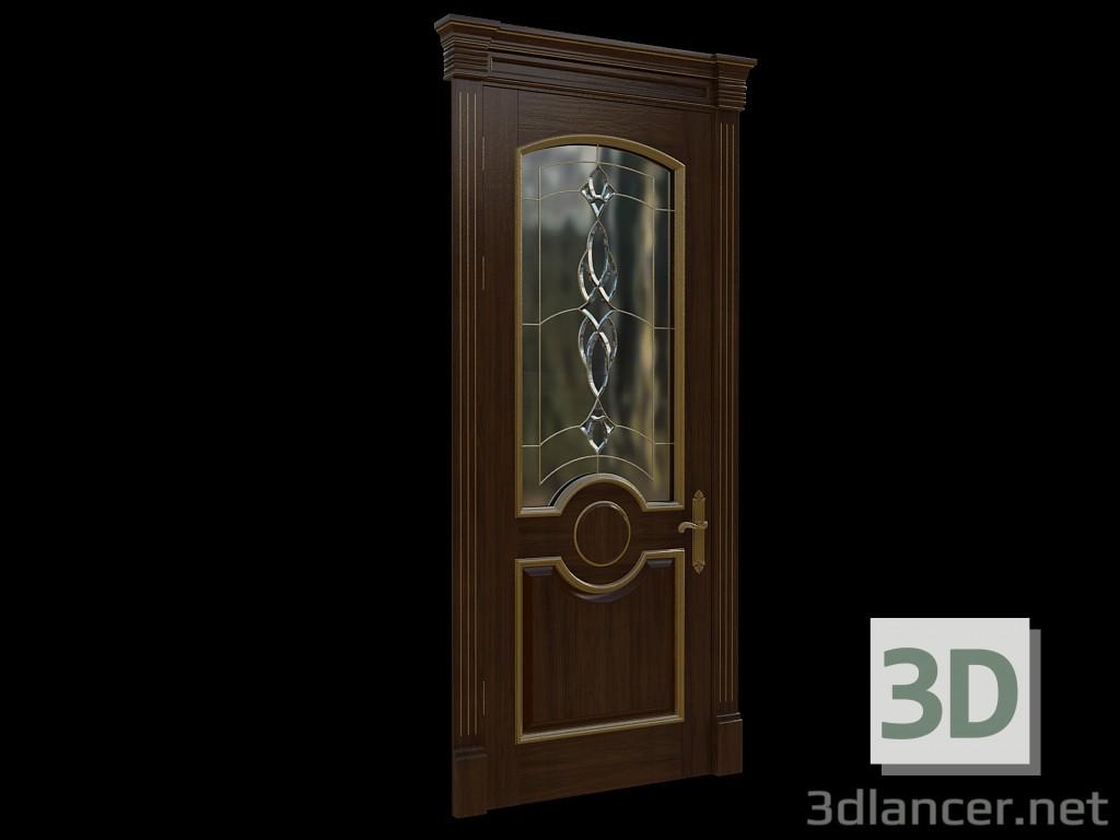 3d модель Классические двери 2 – превью