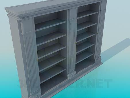 3d model Bookcase - preview