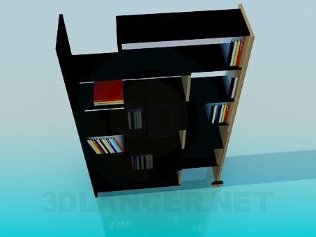 modelo 3D Estantería - escuchar