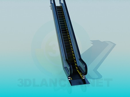 3d model Escalator - preview