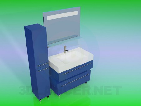 3d modeling Washbasin model free download