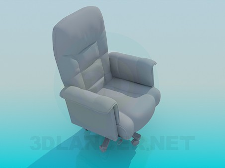 3d model Armchair - preview