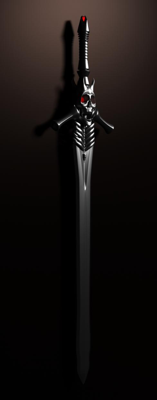 3d Rebellion sword model buy - render
