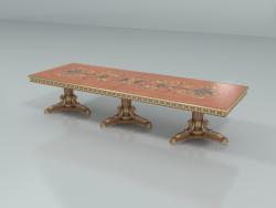 आयताकार खाने की मेज (कला। 13139)