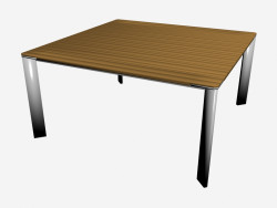 Sunset dining table (150 x 150 wood)