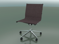5-wheel swivel chair with fabric upholstery (1210)