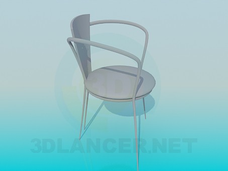 descarga gratuita de 3D modelado modelo Silla en el café