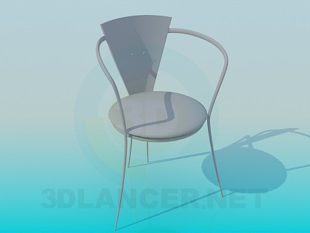 3d model Chair in the cafe - preview